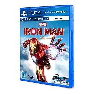 Jogo Game Iron Man VR - PS4