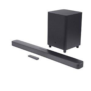 Caixa de Som JBL SoundBar 5.1 Bluetooth Sorround