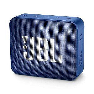 Caixa De Som Bluetooth Jbl Go 2 Portátil Original - Azul