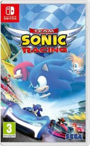 Jogo Sonic Racing Team Nintendo Switch