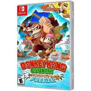 Jogo Donkey Kong Country Tropical Freeze Nintendo Switch