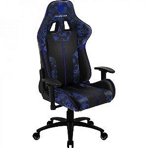Cadeira Gamer Thunderx3 BC3 Camuflada Azul Admiral