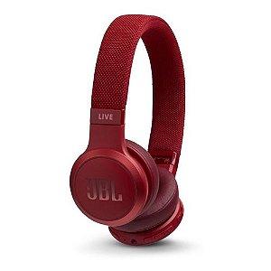 Fone de Ouvido Bluetooth JBL Live 400bt Vermelho