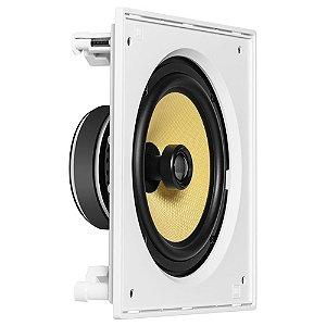 JBL Arandela Caixa Acústica de Embutir Quadrada CI8S Com Cone de Kevlar 8''