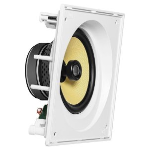 JBL  Arandela Caixa Acústica de Embutir Angulada CI8SA Kevlar Com Cone 8''