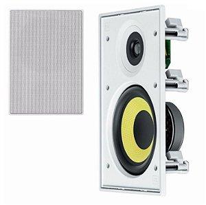 JBL Arandela Caixa Acústica de Embutir CI6R Retangular Kevlar 60W RMS