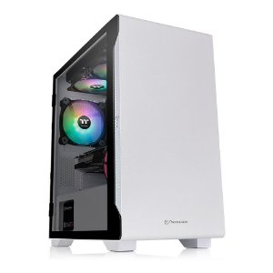 Gabinete Gamer Thermaltake S100 Tg Snow Vidro Temperado