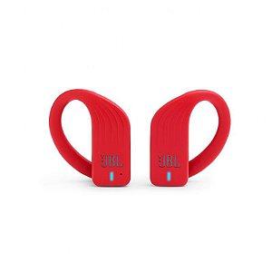 Fone de Ouvido Bluetooth JBL Endurance Peak Esportivo Vermelho