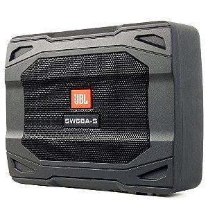 Caixa Ativa Subwoofer Slim JBL SW68A-S 6x8 polegadas