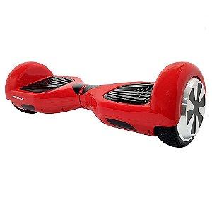 Hoverboard Scooter Elétrico Foston Vermelho 3000s Bluetooth