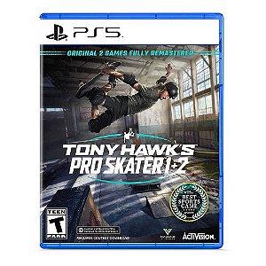 Jogo Tony Hawk´s Pro Skater 1 + 2