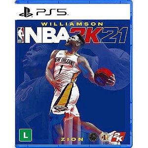 Jogo NBA 2K21 WILLIAMSON PS5