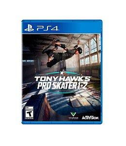 Jogo Tony Hawk´s Pro Skater 1 + 2 PS4