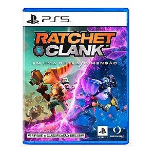 Jogo Ratchet e Clank Em Uma Outra Dimensão PS5