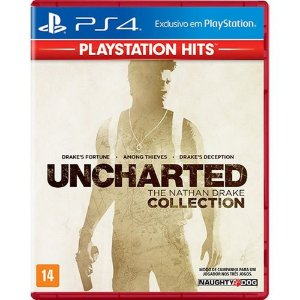Jogo Uncharted Collection Hits PS4