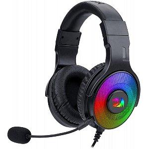 Headset Gamer Redragon Pandora 2 Gaming RGB Black