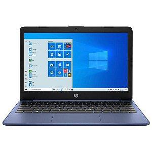 "Notebook HP Stream 11-AK0010NR Intel Celeron 1.1GHz / Memória 4GB / HD 32GB / 11.6"" / Windows 10"