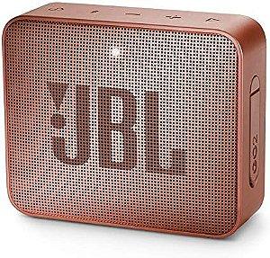 Caixa de Som JBL Go 2, Bluetooth, À Prova D´Água, 3.1W, Canela