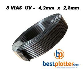 Mangueira para Tinta UV - 2.8mm - 8 Vias