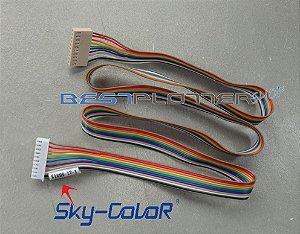 Cabo da Placa do Painel com Botões PARA Placa Mãe SkyColor - 6160S