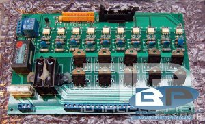 Controladora dos motores JHF 6000