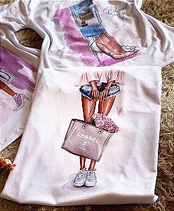 T-shirt Bolsa Chanel