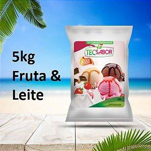 Saborizantes frutas e leite 5 kg