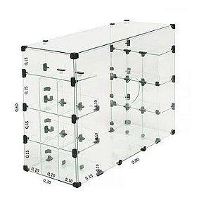 Baleiro Caixa 80x60x30 cm REF: 198
