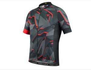 CAMISA CICLISMO FREE FORCE SPORT CRACKED