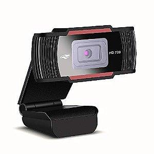 WebCam C3Tech HD 720P com microfone embutido Preto - WB-70BK