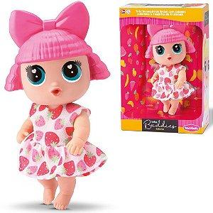 Boneca Baby Buddies Sabores Brinquedo Infantil