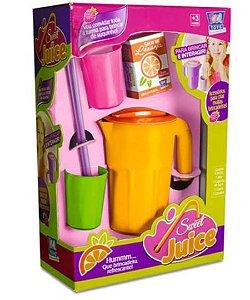 Kit Sweet Juice Com 6 Peças Brinquedo Infantil Zuca Toys