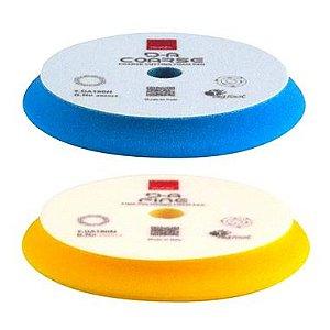 Boinas 6¨ Azul D-A Coarse Corte+ Amarela D-A Fine Lustro - Rupes