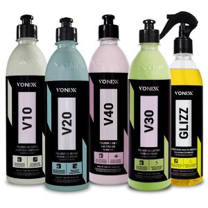 Kit Polimento - V10 V20 V30 V40 Glizz - Vonixx