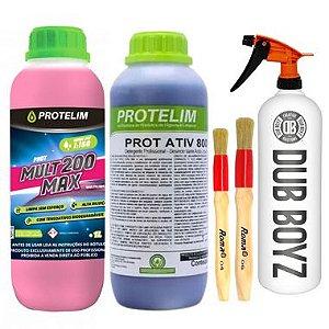 Kit Limpeza Externa Prot Max 200 + Prot Ativ 800 1L - Protelim + Combo