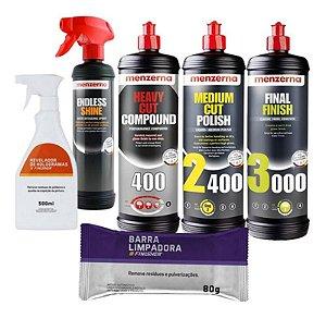 Kit Polimento Hcc400 2400 3000 1l Menzerna + Combo