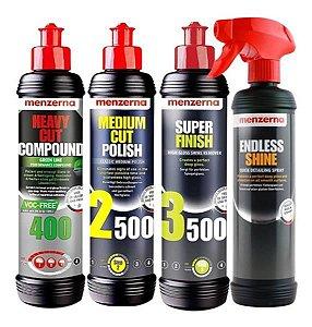 Kit Polir Hcc400 Green 2500 3500 250ml Endlessshine Menzerna