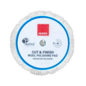 Boina de Lã Rotativa Azul CUT & FINISH CORTE 5¨ - Rupes