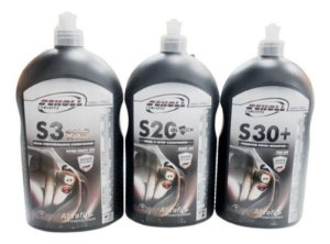 Composto Polidores S3 Gold S20 Black S30 1kg Scholl Concepts