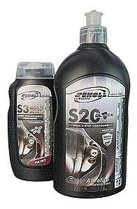 Composto Polidores S3 Gold 250g + S20 500g Scholl Concepts