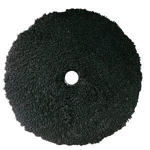 Boina de Microfibra Corte Preta Uro-Fiber 5¨ - Buff and Shine