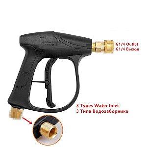 Pistola Curta P/ Lavagem Alta Pressão Detailer
