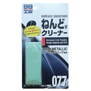 Clay Bar Dark Black ( Abrasividade Leve) 150gr - Soft99