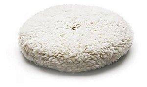 """Boina de Lã Branca - Dupla Face 8"""" - Lincoln"""
