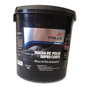 Massa de Polir Super Corte 4Kg - Mills
