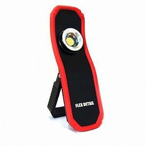 Lanterna Led Recarregável Flex Detail Bivolt C/ Base Magnética - Yes Tools