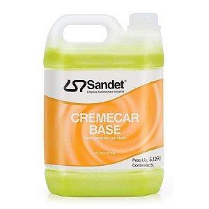 Detergente Cremecar Base 5L - Sandet