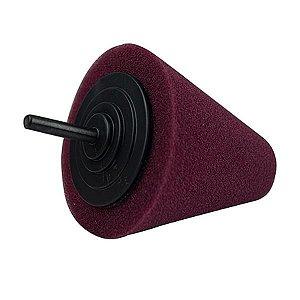 Cone de Espuma Marsala Agressivo P/ Polimento - Kers