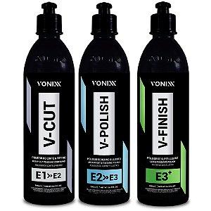 Sistema VHP - V-Cut V-Polish V-Finish 500ml - Vonixx