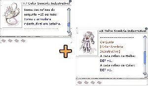 Combo Sombrio +15 ARMADURA